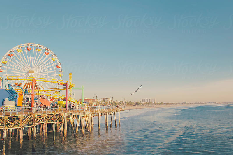 California amusement park by Carey Shaw for Stocksy United