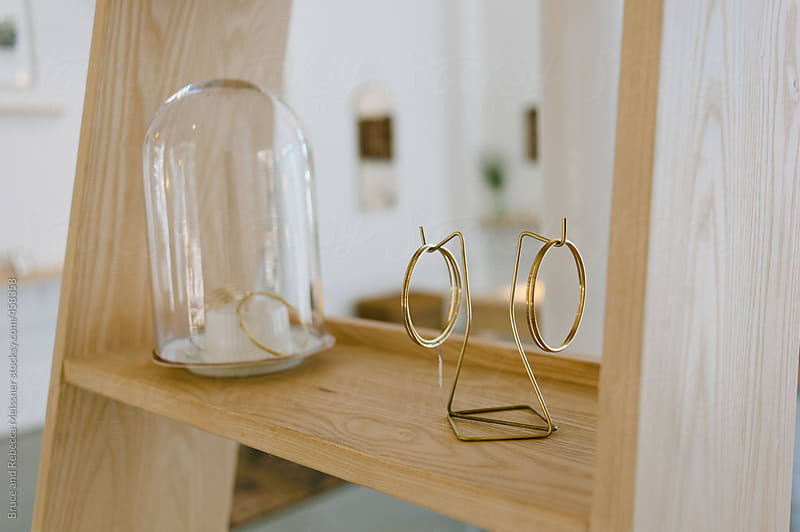 Interior of a Jewellery Shop by Bruce and Rebecca Meissner for Stocksy United
