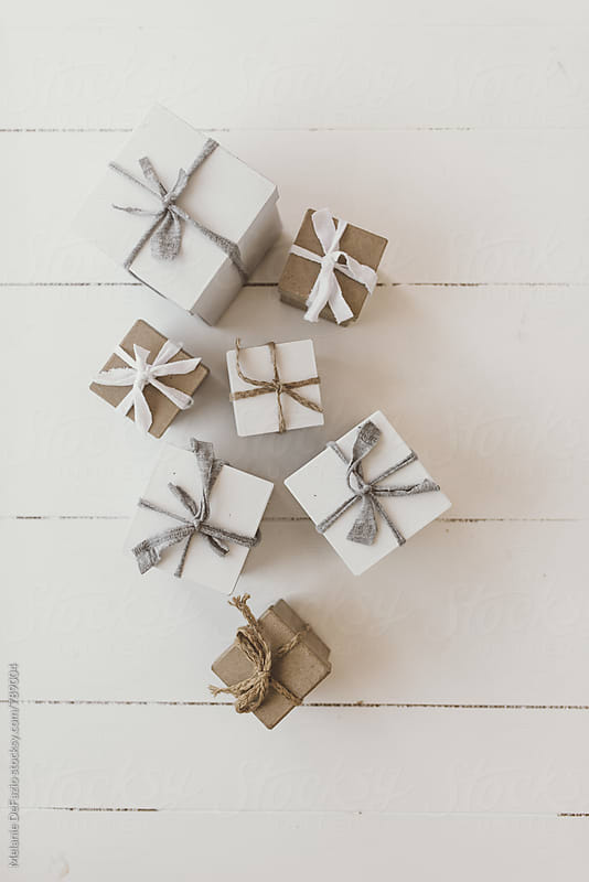 christmas gifts by Melanie DeFazio for Stocksy United