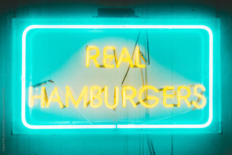 Real Hamburger by Good Vibrations Images for Stocksy United