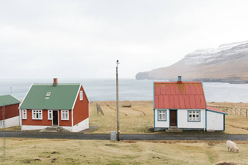 Faroese Houses by Kevin Faingnaert for Stocksy United