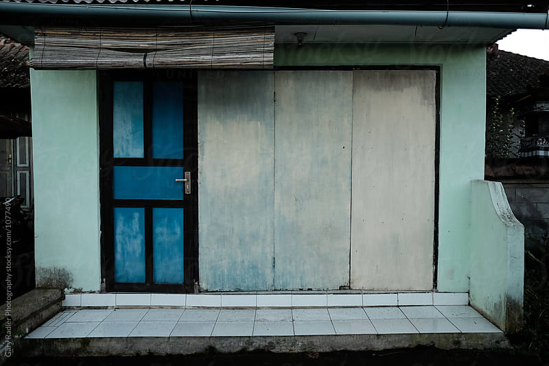 Blue Bali Building by Gary Radler Photography for Stocksy United