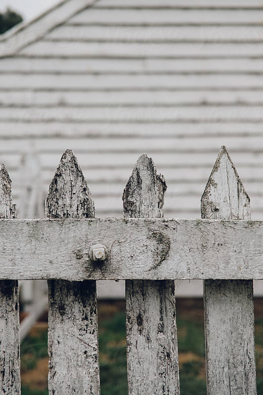 Detail of old farm gate by Rowena Naylor for Stocksy United