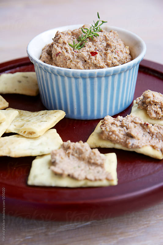 Mushroom and Walnut Pâté by Harald Walker for Stocksy United