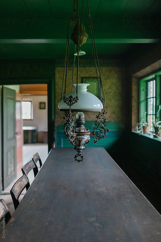 Old farmhouse dining room by Zocky for Stocksy United