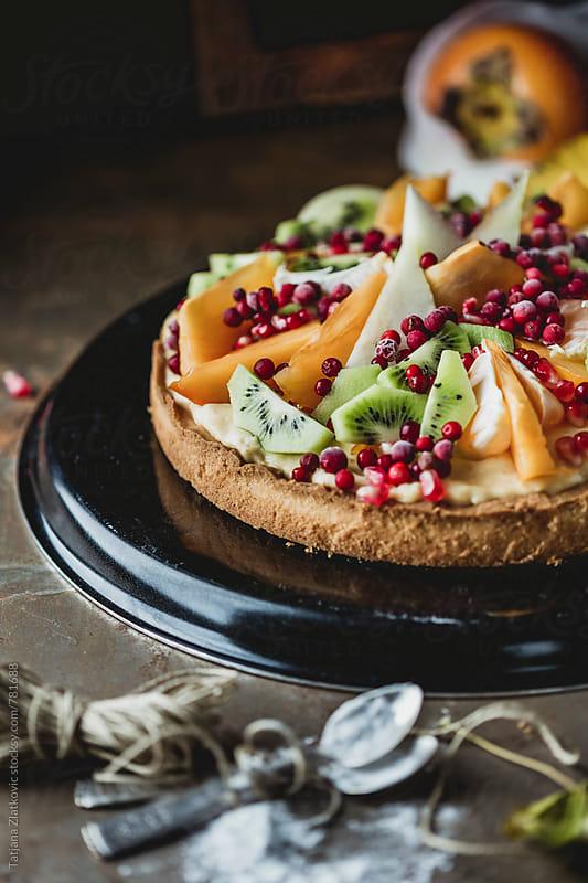 Homemade tart by Tatjana Ristanic for Stocksy United