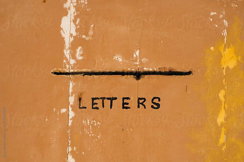 Letterbox by Sam Burton for Stocksy United