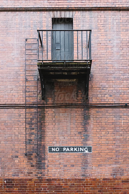no parking area by GIC for Stocksy United