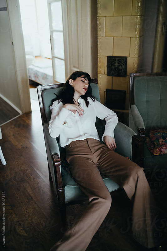 Fashionable woman  by Jovana Rikalo for Stocksy United