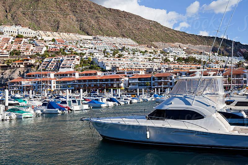 Puerto de Santiago Harbor, Tenerife by Victor Torres for Stocksy United