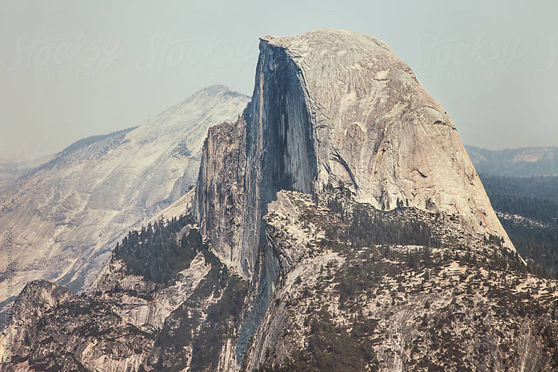 Half Dome in Yosemite National Park by VISUALSPECTRUM for Stocksy United