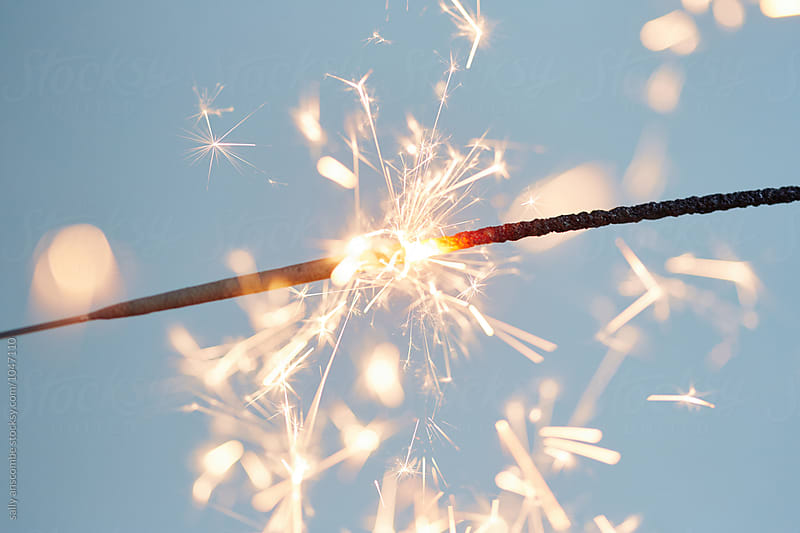 Sparkler by sally anscombe for Stocksy United