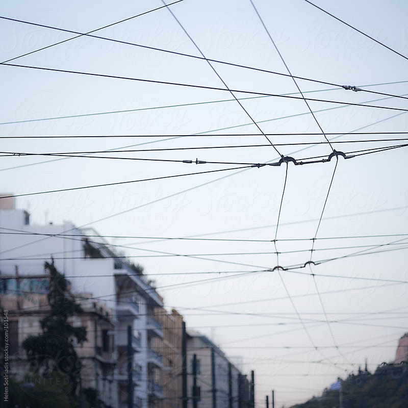 Trolley Cables by Helen Sotiriadis for Stocksy United