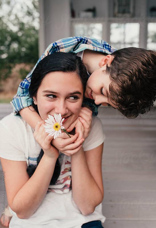 siblings by Melanie DeFazio for Stocksy United