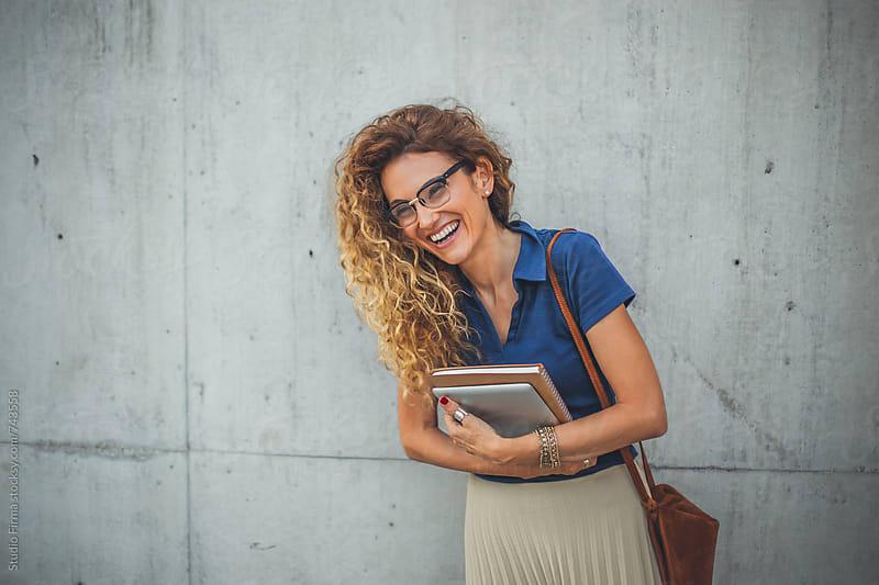 Portrait of a Businesswoman by Studio Firma for Stocksy United