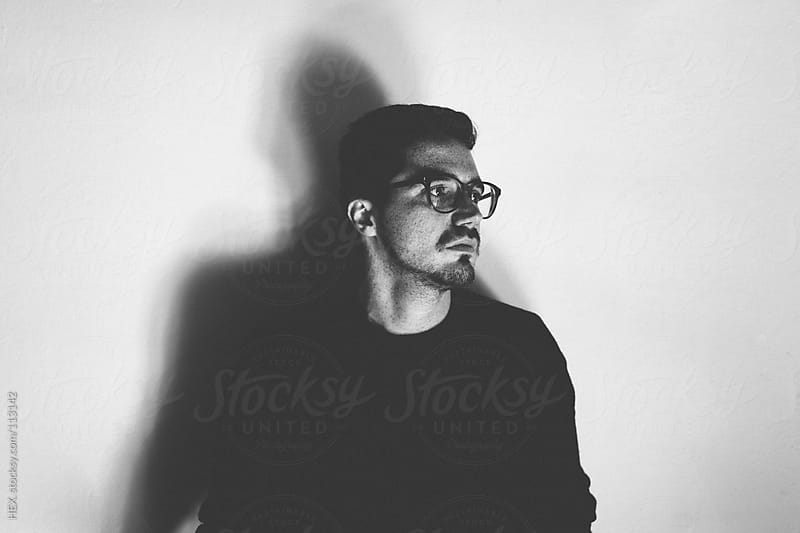 Mid Adult Studio Bw Portraits by HEX. for Stocksy United
