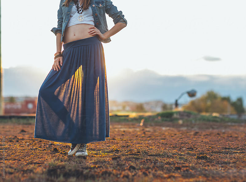 Hippie Woman by Lumina for Stocksy United