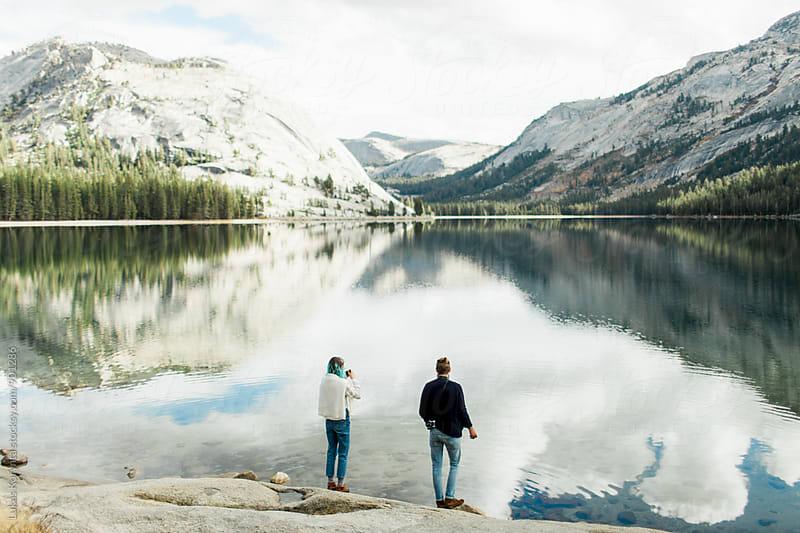 Lake adventures by Lukas Korynta for Stocksy United