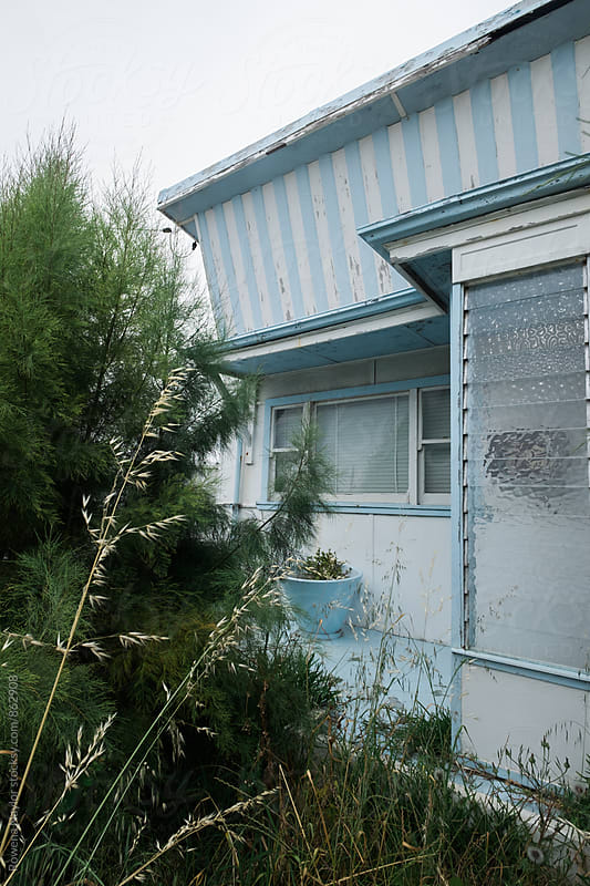 Unloved Abandoned Beach House by Rowena Naylor for Stocksy United