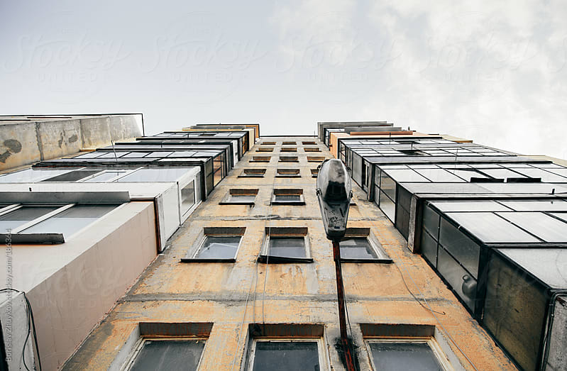 Old Building Facade by Borislav Zhuykov for Stocksy United