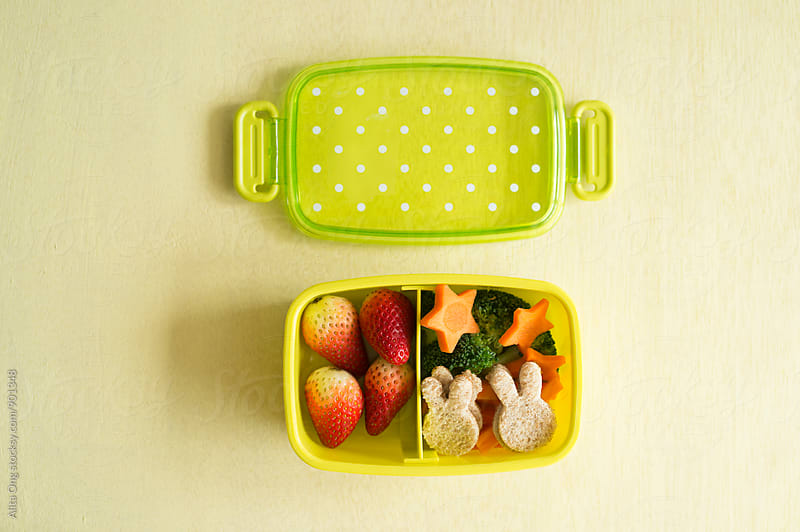 Kid's lunchbox by Alita Ong for Stocksy United