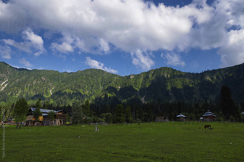 The beautiful Neelum Valley, Kashmir by Yasir Nisar for Stocksy United