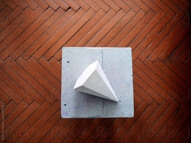 Polyhedron pyramid by Sveta SH for Stocksy United