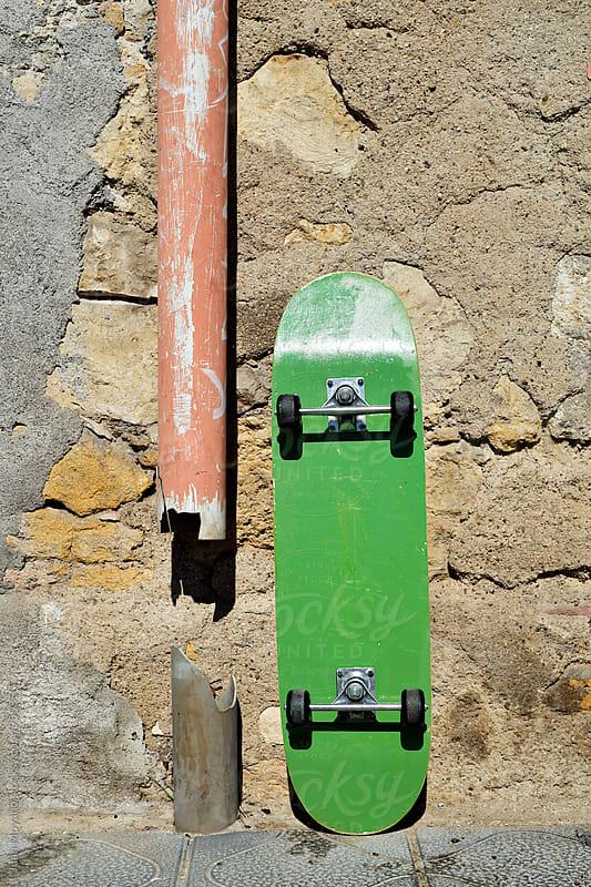 skateboard by juan moyano for Stocksy United