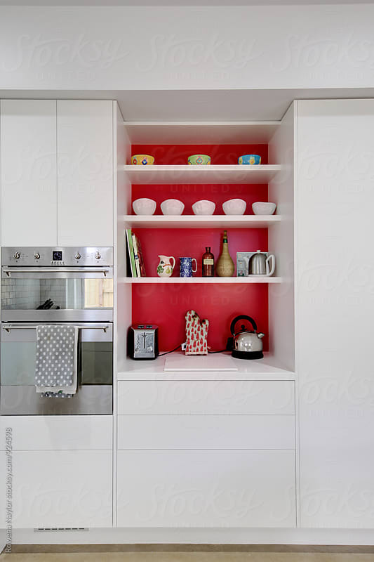 Clean tidy kitchen by Rowena Naylor for Stocksy United