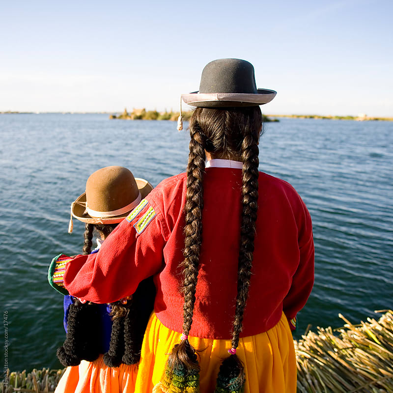 The islands of Lake Titicaca. Puno. Peru by Hugh Sitton for Stocksy United