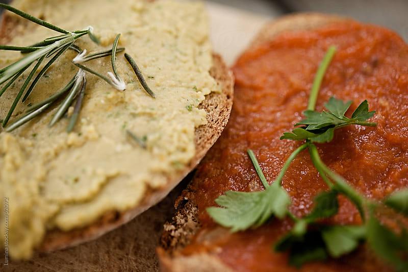 Vegan Sandwiches by Lumina for Stocksy United