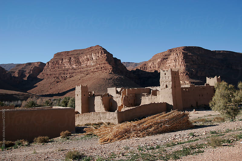 Abandoned fortress in Morocco by Ferenc Boros for Stocksy United