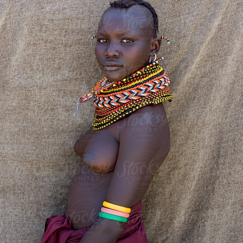 Portrait of Turkana tribeswoman. Lake Turkana. Kenya. by Hugh Sitton for Stocksy United
