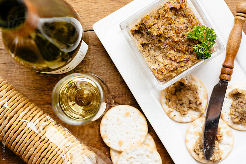 Spelt pate spread by Harald Walker for Stocksy United
