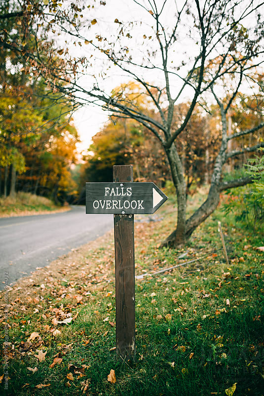 Trail Sign by Isaiah & Taylor Photography for Stocksy United