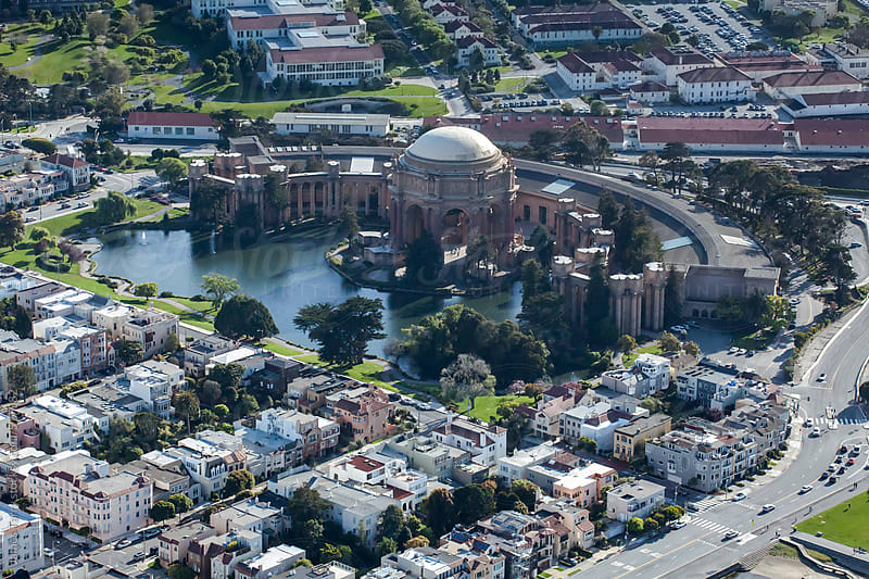 San Francisco Aerial  by James Tarry for Stocksy United