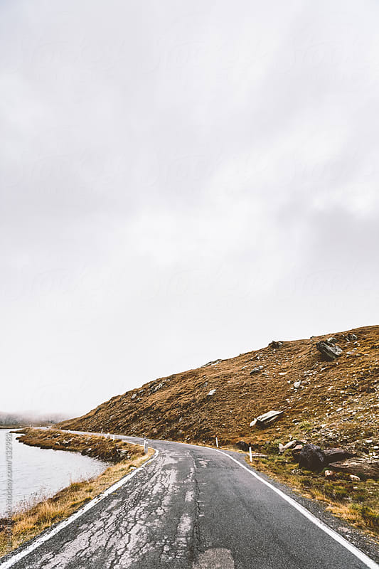 Mountain road by michela ravasio for Stocksy United