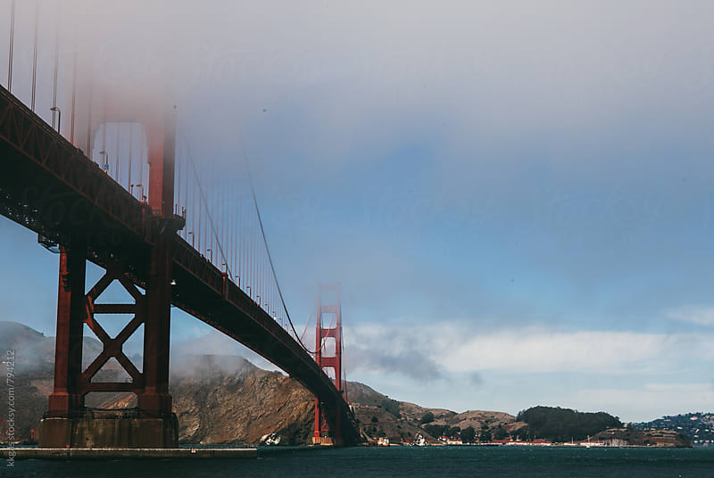 The Golden Gate Bridge, San Francisco. by kkgas for Stocksy United