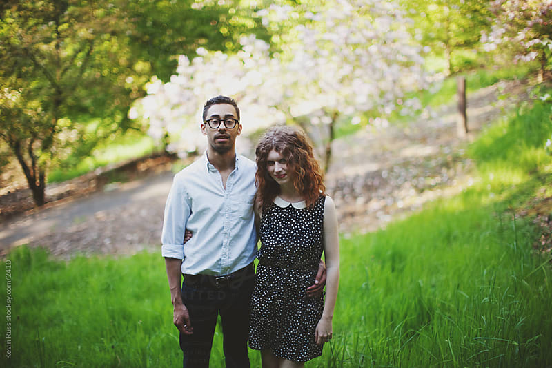 Spring Young Adult Couple by Kevin Russ for Stocksy United