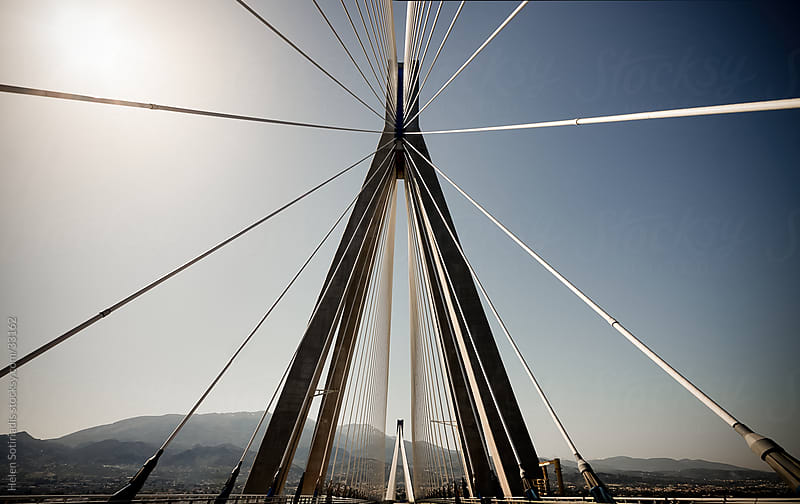 Cable bridge by Helen Sotiriadis for Stocksy United