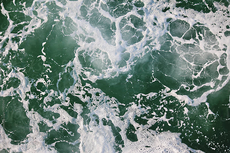 Green Sea Foam by Tari Gunstone for Stocksy United
