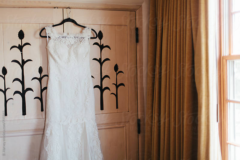 Beautiful Wedding Dress by B. Harvey for Stocksy United