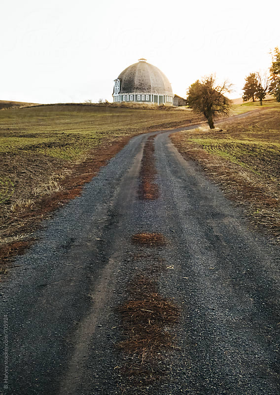 Beautiful Round Barn by B. Harvey for Stocksy United