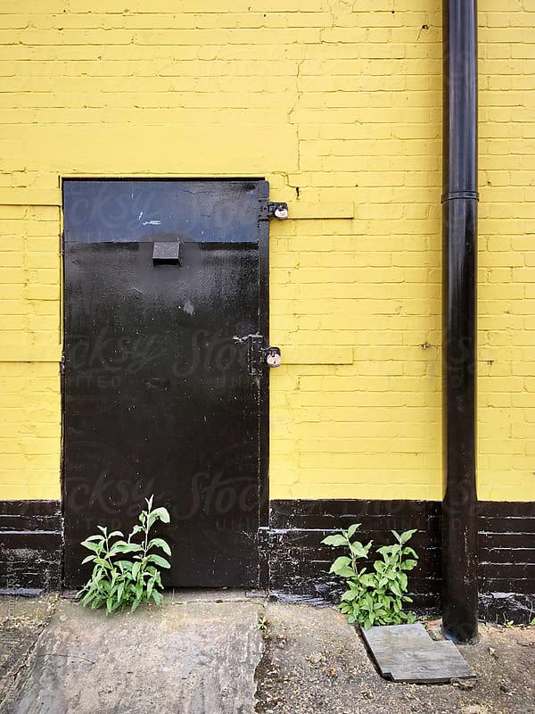 Steel door by James Ross for Stocksy United