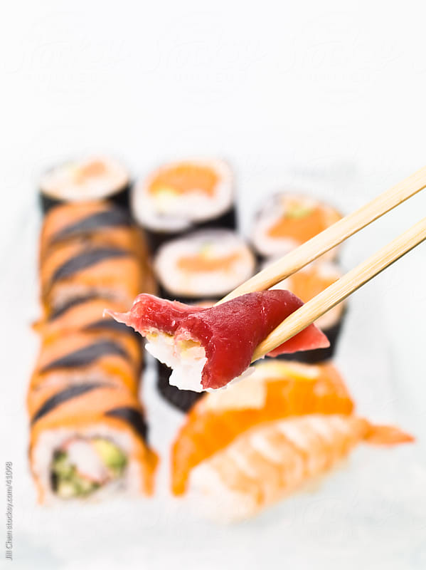 Bite of Sushi by Jill Chen for Stocksy United