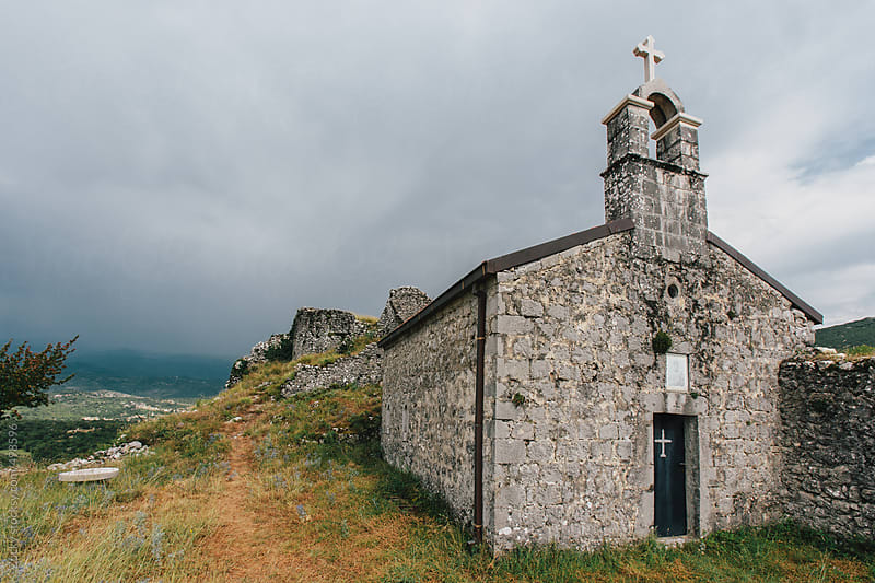 Montenegro Hill Church by Zocky for Stocksy United