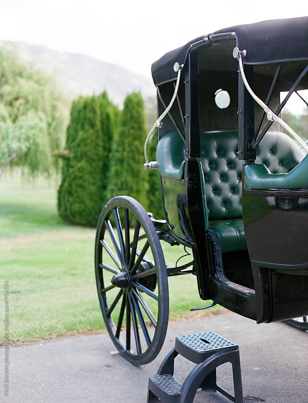 antique carriage by Kirill Bordon photography for Stocksy United