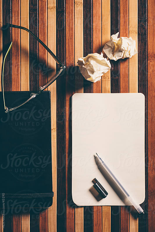 Writing Desk Background by HEX. for Stocksy United