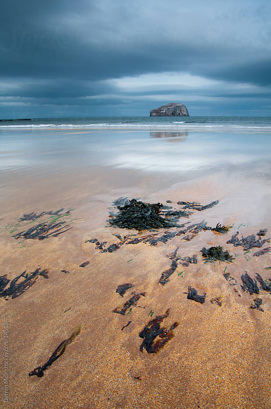 The Bass Rock by Darren Muir for Stocksy United