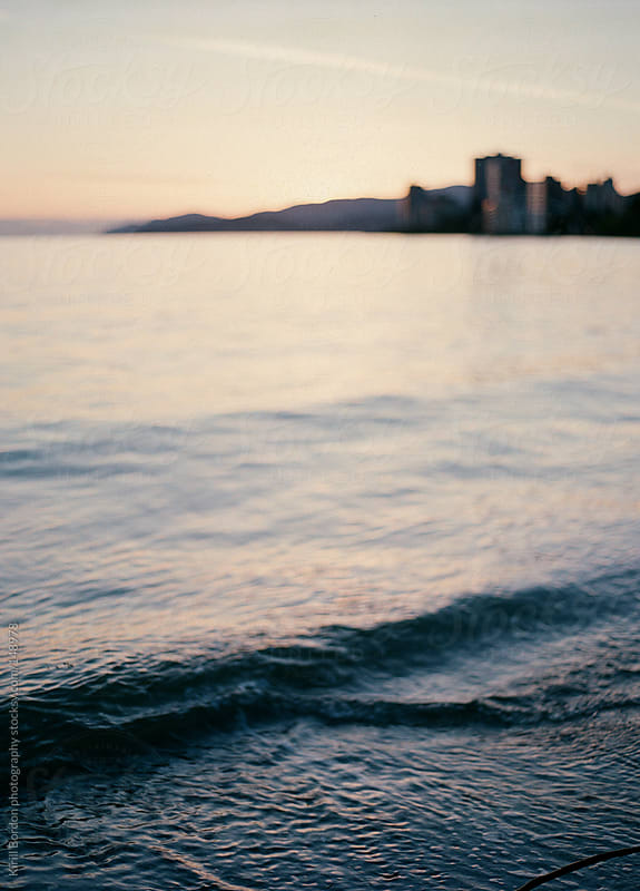 Sunset in West Vancouver by Kirill Bordon photography for Stocksy United